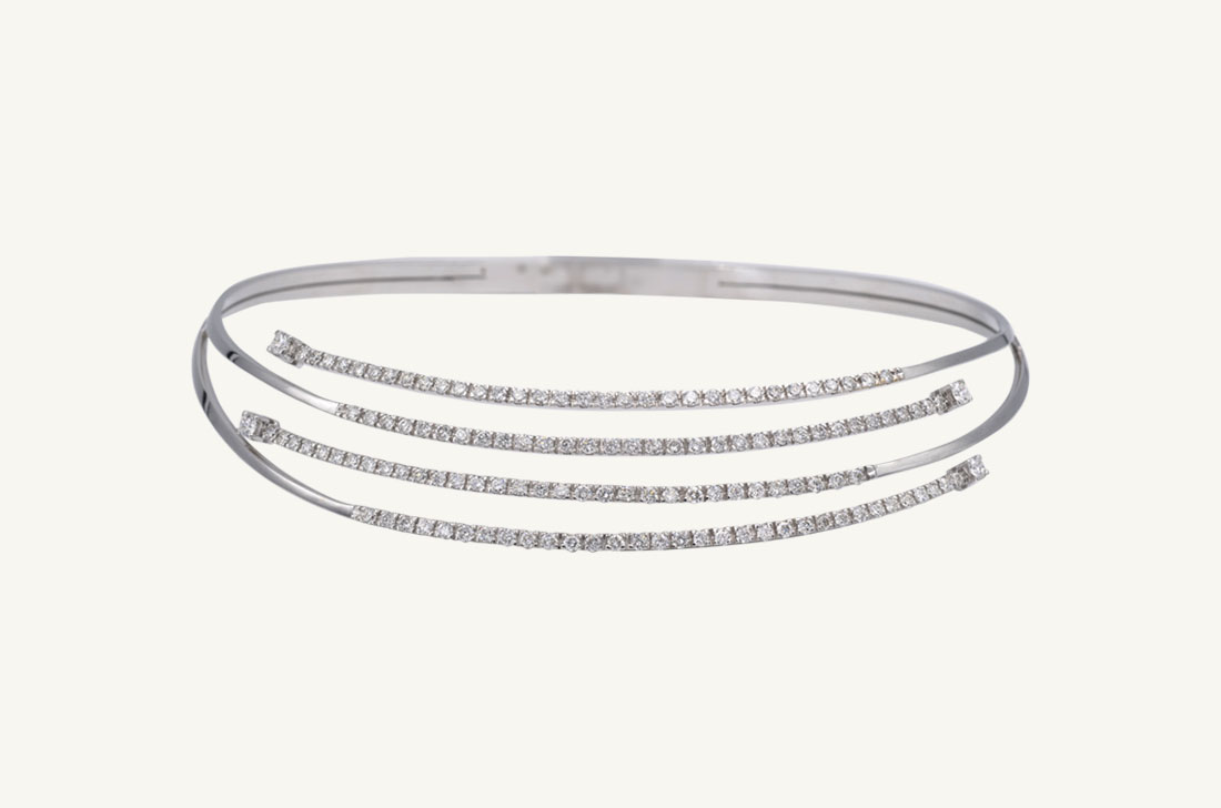 Necklace - White Gold & Diamonds