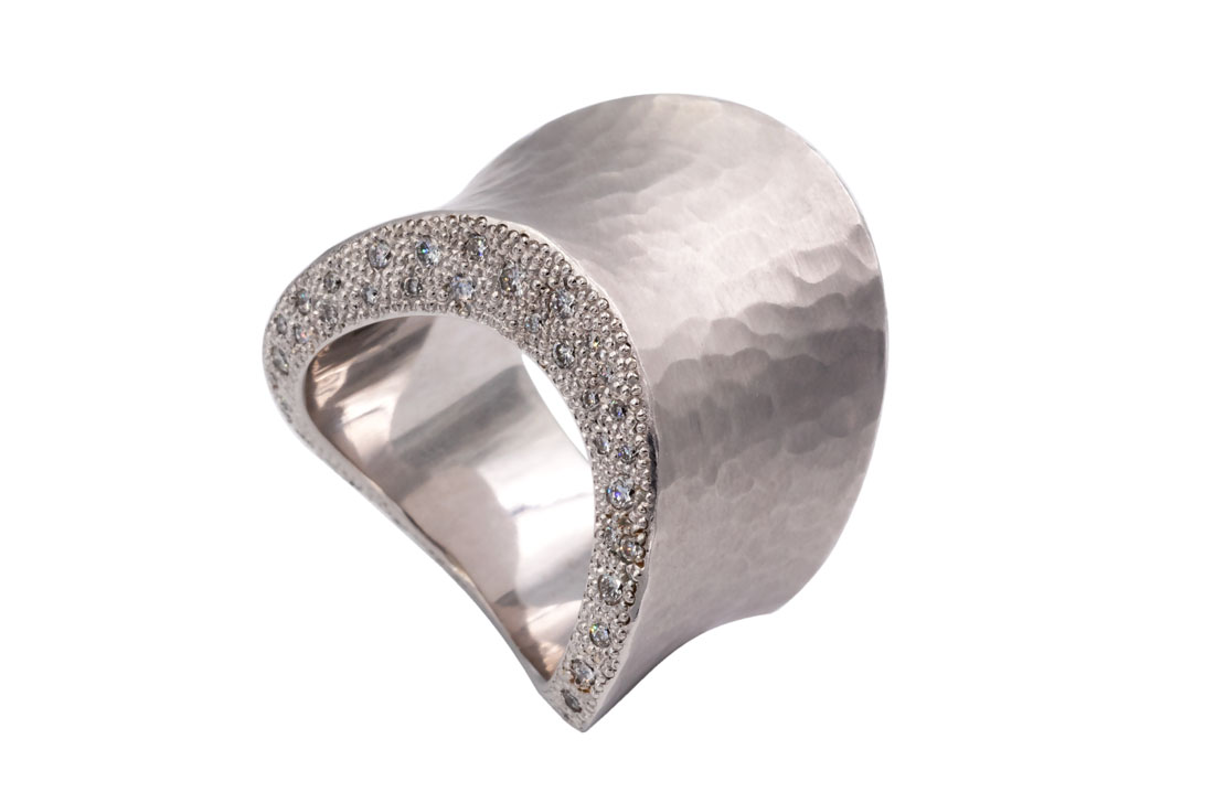 Ring Hammered Waves