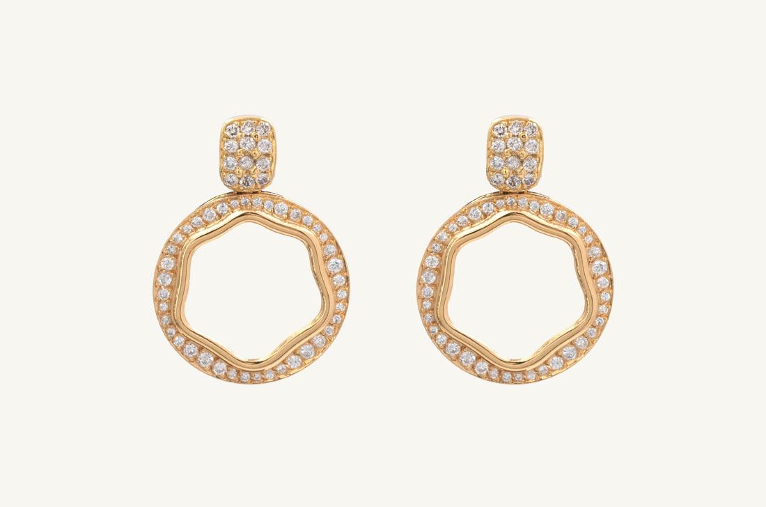 Zen- Yellow Gold & Diamonds